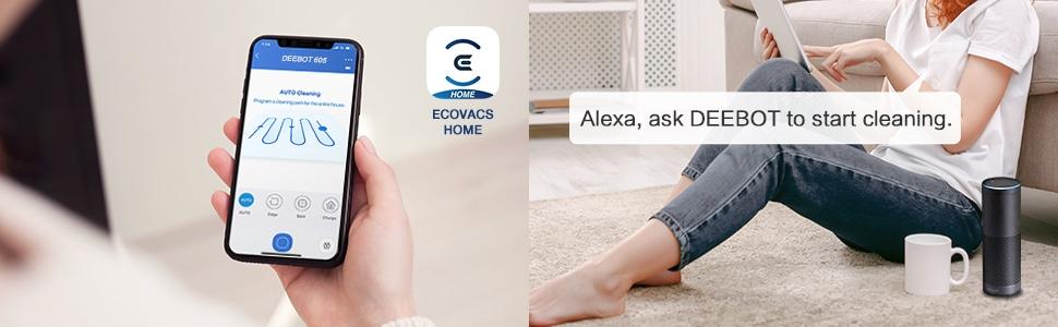ECOVACS DEEBOT 605 con Alexa