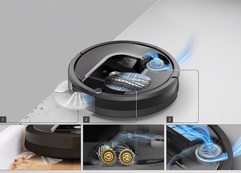 Funzionamento del Roomba 960